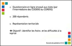 ENQUȆTE INTERNE : DIFFICILE REPRISE DES ACTIVITÉS