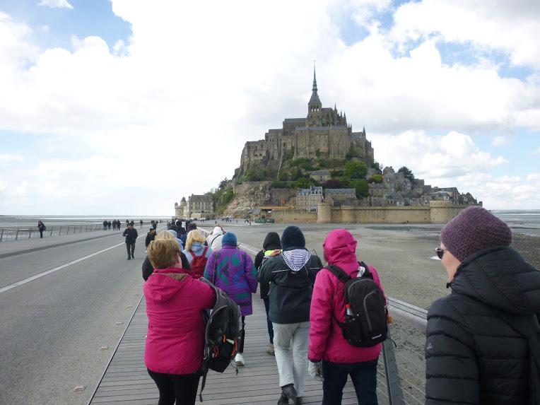 Club de Courbevoie : découverte du Mont Saint Michel