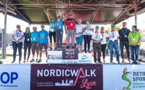 NORDIC'WALKIN LYON 2018 : 3e PLACE POUR LA FFRS