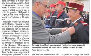 DÉCÈS DE PATRICE GUYONNET