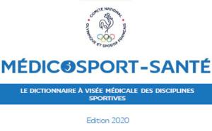 LE MÉDICOSPORT-SANTÉ, ÉDITION 2020